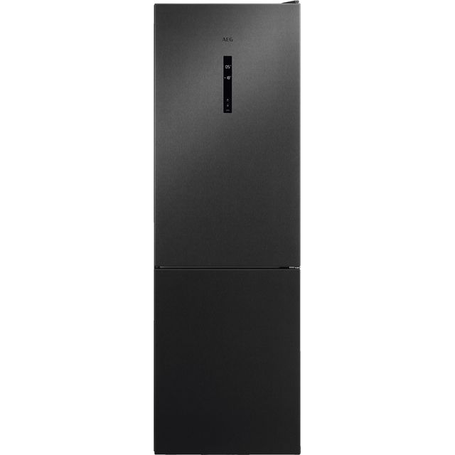 Image of AEG RCB732E5MB 60/40 Frost Free Fridge Freezer - Dark Grey - A++ Rated