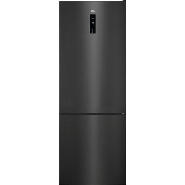 AEG RCB73423TY 60/40 Frost Free Fridge Freezer - Dark Grey - A++ Rated - RCB73423TY_DGY - 1