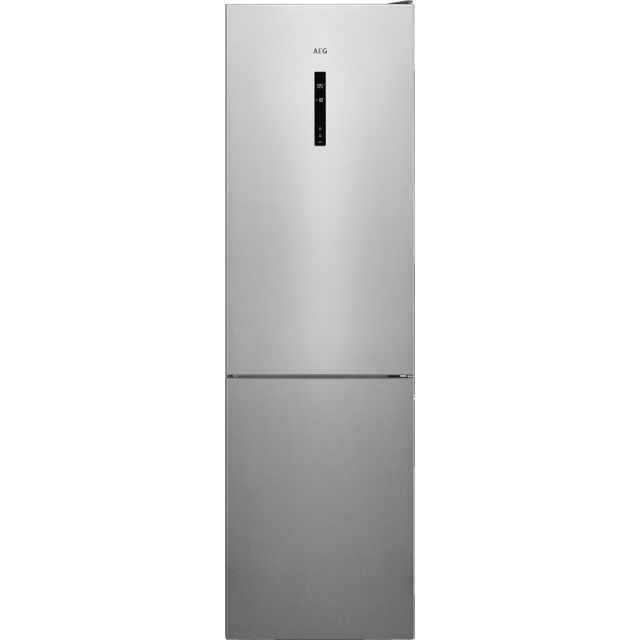 AEG RCB736E5MX 60/40 Frost Free Fridge Freezer - Silver - A++ Rated