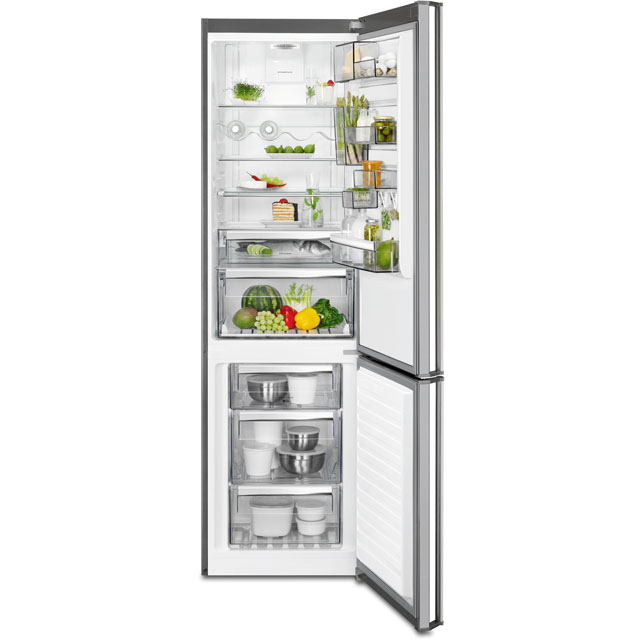 AEG RCB83724MX 60/40 Frost Free Fridge Freezer - Stainless Steel - A++ Rated
