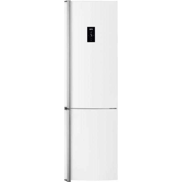 AEG 60/40 Frost Free Fridge Freezer - White - A++ Rated