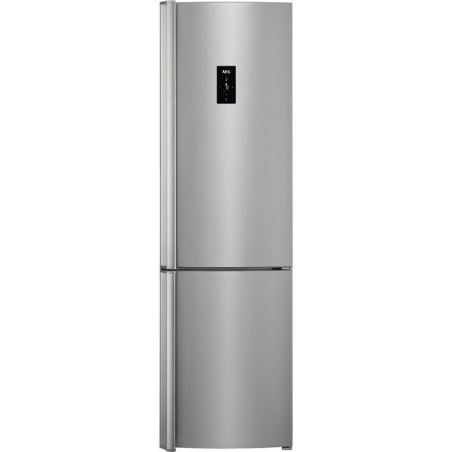 AEG RCB83724VX 60/40 Frost Free Fridge Freezer - Stainless Steel - A++ Rated - RCB83724VX_SS - 1