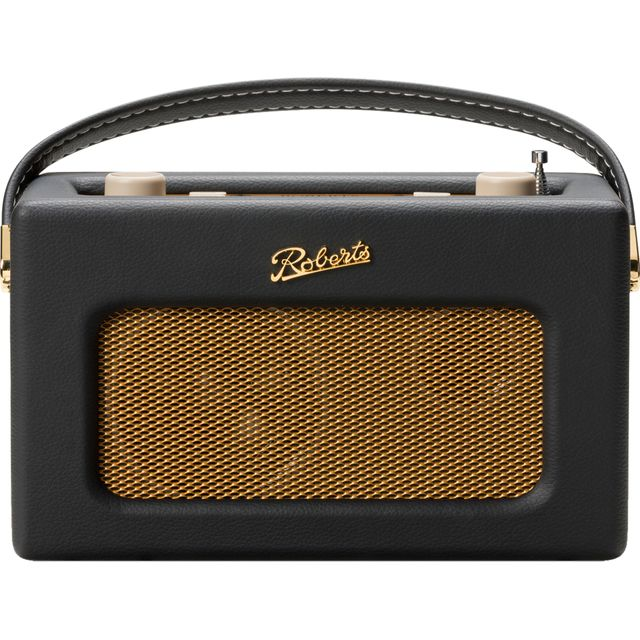 Roberts Radio Revival RD70BLK DAB / DAB+ Digital Radio with FM Tuner - Black - RD70BLK - 1
