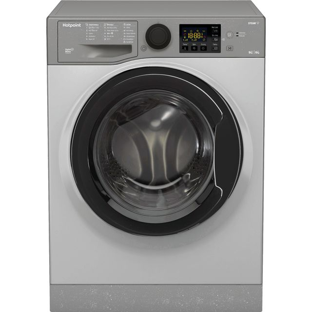 Hotpoint RDG9643GKUKN 9Kg / 6Kg Washer Dryer with 1400 rpm - Graphite - A Rated