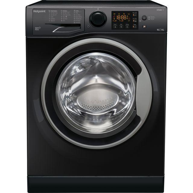 Hotpoint RDG9643KSUKN 9Kg / 6Kg Washer Dryer with 1400 rpm - Black - A Rated
