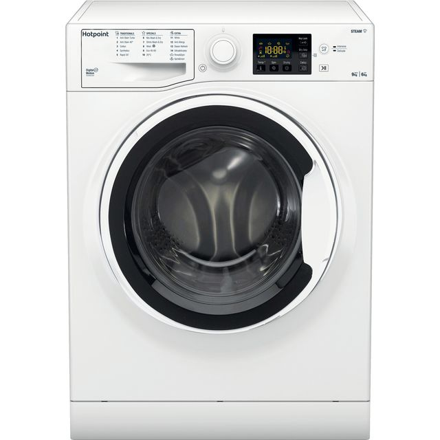 Hotpoint RDG9643WUKN 9Kg / 6Kg Washer Dryer with 1400 rpm - White - A Rated