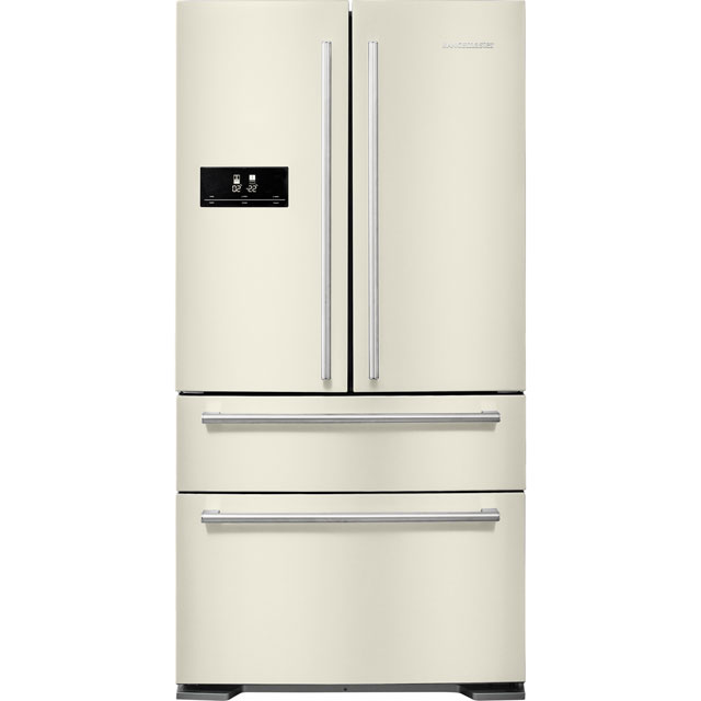 Rangemaster DXD American Fridge Freezer - Ivory Cream - A+ Rated