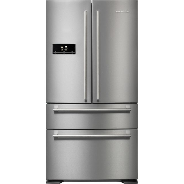Rangemaster DXD RDXD18SS/C American Fridge Freezer - Stainless Steel - A+ Rated Best Price, Cheapest Prices
