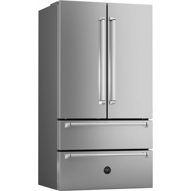 Bertazzoni Master Series REF90X American Fridge Freezer - Stainless Steel - A+ Rated - REF90X_SS - 1