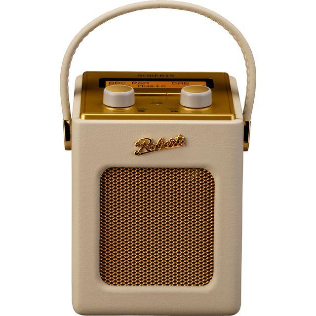 Roberts Radio Revival Mini REV-MINIPC DAB / DAB+ Digital Radio with FM Tuner - Pastel Cream