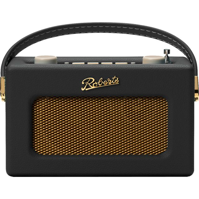 Roberts Radio Revival Uno REV-UNOBLK DAB / DAB+ Digital Radio with FM Tuner - Black - REV-UNOBLK - 1