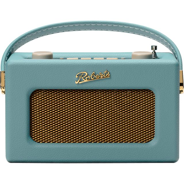 Roberts Radio Revival Uno REV-UNODE DAB / DAB+ Digital Radio with FM Tuner - Duck Egg - REV-UNODE - 1