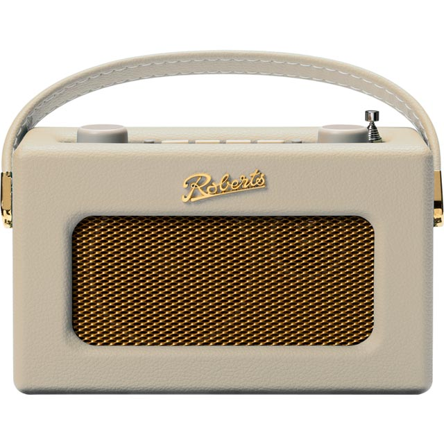 Roberts Radio Revival Uno REV-UNOPC DAB / DAB+ Digital Radio with FM Tuner - Pastel Cream - REV-UNOPC - 1