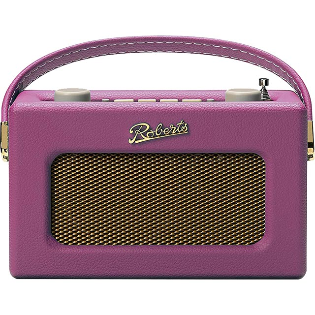 Roberts Radio Revival Uno REV-UNOPCA DAB / DAB+ Digital Radio with FM Tuner - Pink - REV-UNOPCA - 1