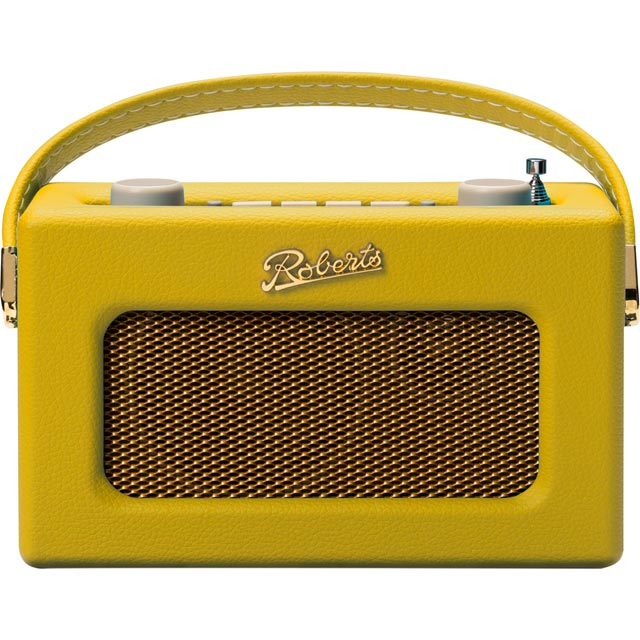 Roberts Radio Revival Uno REV-UNOYS DAB / DAB+ Digital Radio with FM Tuner - Yellow - REV-UNOYS - 1