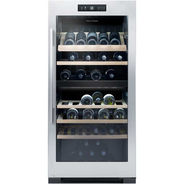 Fisher & Paykel RF206RDWX1 Wine Cooler - Stainless Steel - B Rated - RF206RDWX1_SS - 1