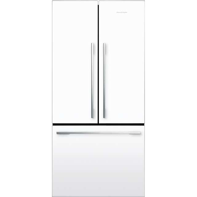 Fisher & Paykel Designer ActiveSmart RF522ADW4 American Fridge Freezer - White - A+ Rated - RF522ADW4_WH - 1