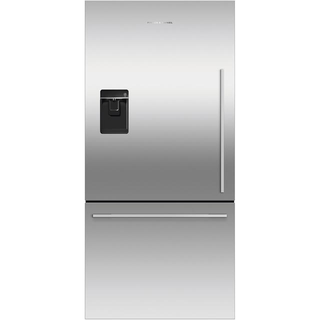 Fisher & Paykel Designer RF522WDLUX4 70/30 Frost Free Fridge Freezer - Stainless Steel - A+ Rated - RF522WDLUX4_SS - 1