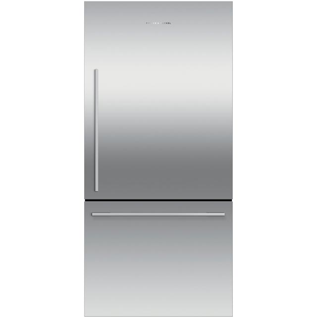 Fisher & Paykel Designer RF522WDRX4 70/30 Frost Free Fridge Freezer - Stainless Steel - A+ Rated - RF522WDRX4_SS - 1