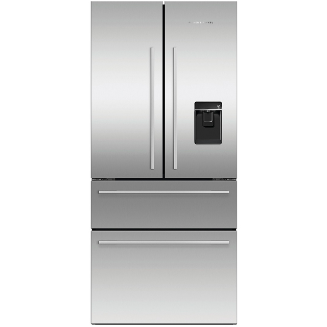 Fisher & Paykel Designer RF523GDUX1 American Fridge Freezer - Stainless Steel - A+ Rated - RF523GDUX1_SS - 1