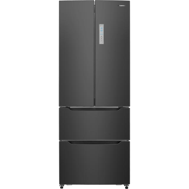 Hisense RF528N4AB1 American Fridge Freezer - Black - A+ Rated