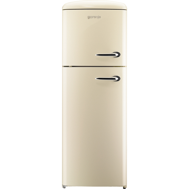 Gorenje Retro Collection RF60309OC-L 70/30 Fridge Freezer - Cream - A++ Rated - RF60309OC-L_CR - 1