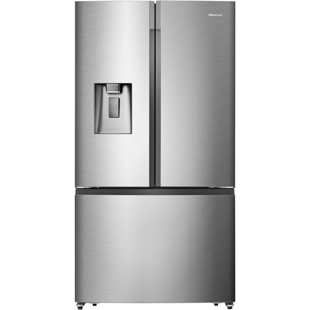Hisense American Fridge Freezer - Silver - A+ Rated