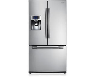 Samsung G-Series RFG23UERS American Fridge Freezer - Stainless Steel - A+ Rated - RFG23UERS_SS - 1