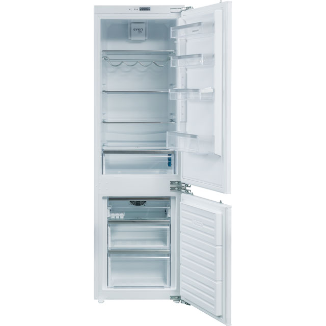 Rangemaster Integrated 70/30 Frost Free Fridge Freezer with Fixed Door Fixing Kit - White - A+ Rated