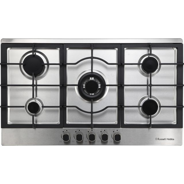 Russell Hobbs RH86GH702SS Built In Gas Hob - Stainless Steel