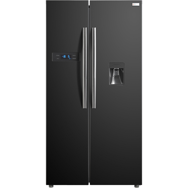 Russell Hobbs MDA RH90FF176B-WD Free Standing American Fridge Freezer in Black