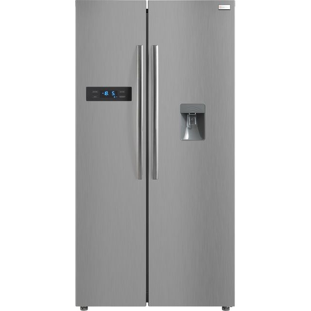 Russell Hobbs RH90FF176SS-WD American Fridge Freezer - Stainless Steel - A+ Rated