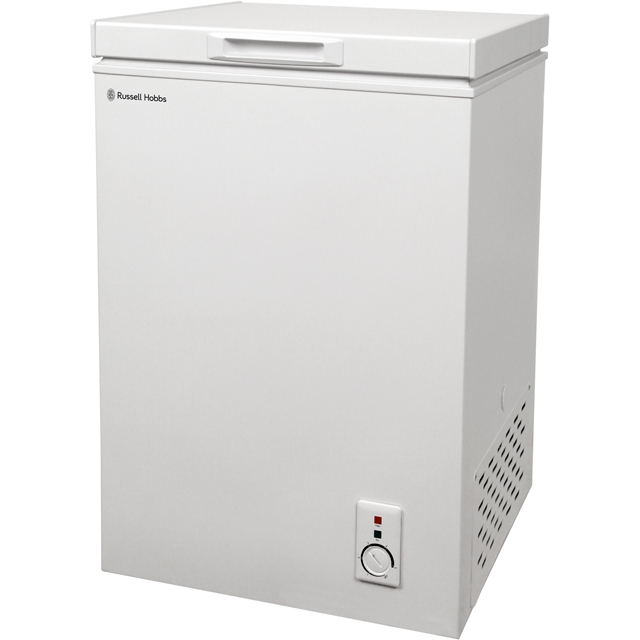 Russell Hobbs MDA RHCF103 Free Standing Chest Freezer in White