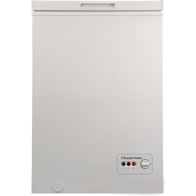Russell Hobbs RHCF103 Chest Freezer - White - A+ Rated