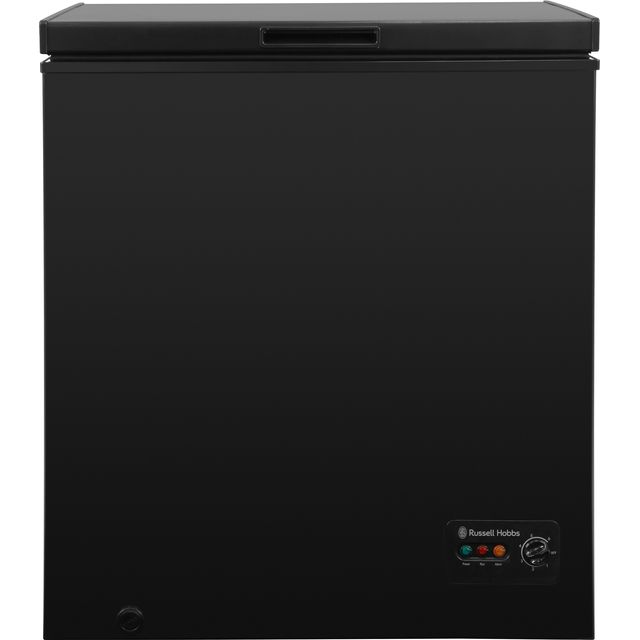 Russell Hobbs RHCF142B Chest Freezer - Black - A+ Rated