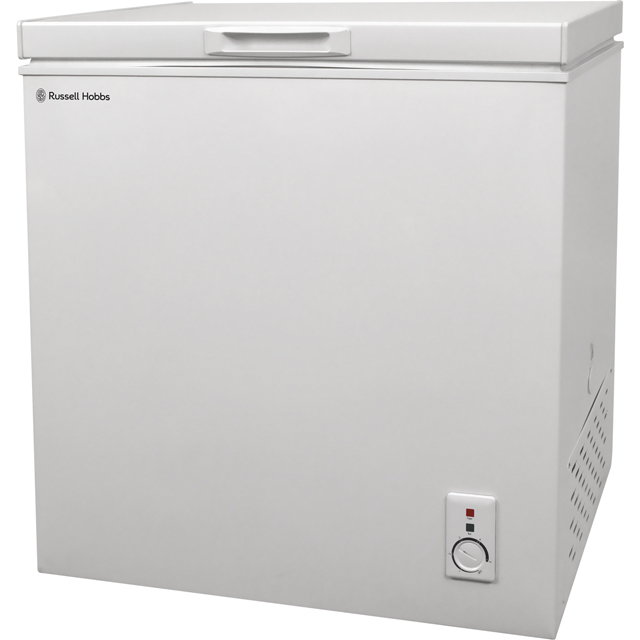 Russell Hobbs RHCF150-MD Chest Freezer - White - A+ Rated - RHCF150-MD_WH - 1