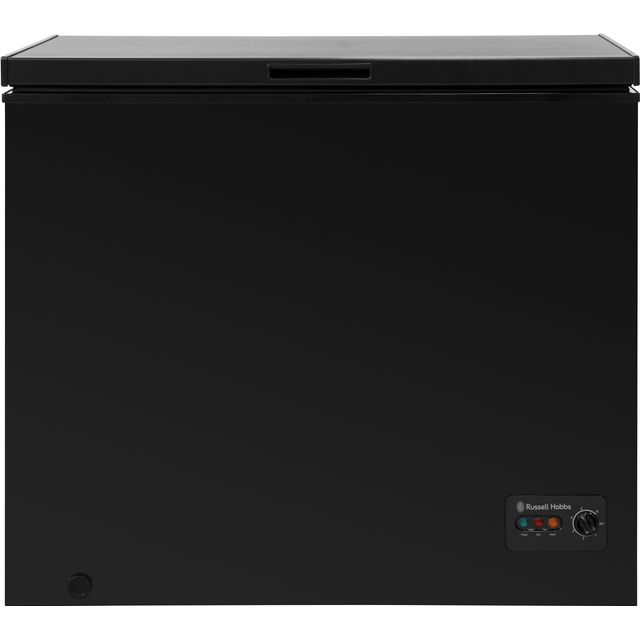 Russell Hobbs RHCF198B Chest Freezer - Black - A+ Rated