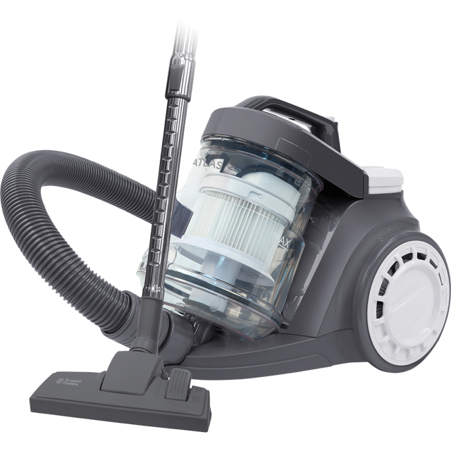 Russell Hobbs Floorcare Atlas Cyclonic RHCV3011 Cylinder Vacuum Cleaner in Grey / White