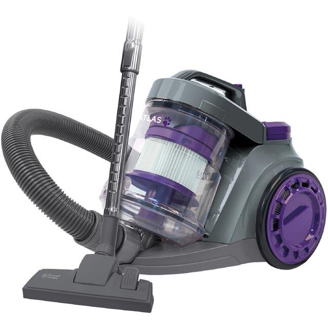 Russell Hobbs Floorcare Cylinder Vacuum Cleaner in Purple / Grey