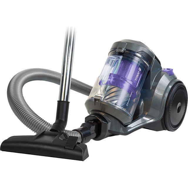 Russel Hobbs RHCV4601, Cylinder Vacuum, Grey & Purple
