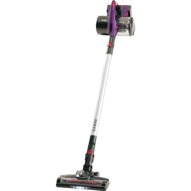 Russell Hobbs Floorcare Sabre+ Handstick RHHS3501 Cordless Vacuum Cleaner in Purple / Grey