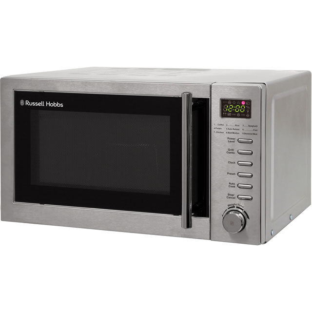 Russell Hobbs RHM2031 20 Litre Microwave With Grill - Stainless Steel
