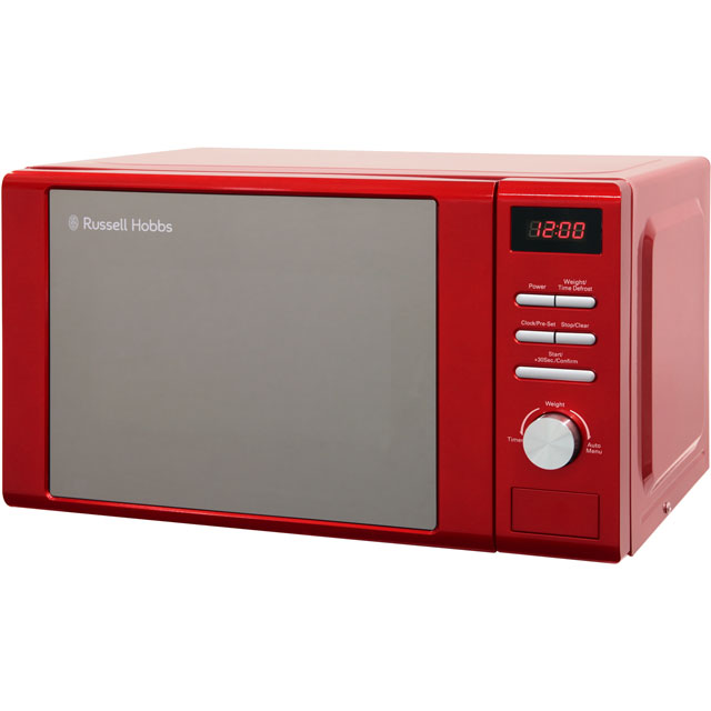 RUSSELL HOBBS RHM2064R Solo Microwave - Red