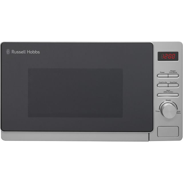 Russell Hobbs RHM2072S 20L 800W Solo Microwave - Silver