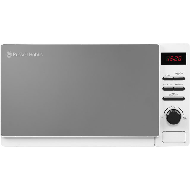 Russell Hobbs Microwaves Aura RHM2079A Free Standing Microwave Oven in White
