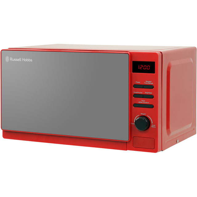 Russell Hobbs Rosso RHM2079RSO 20 Litre Microwave - Red