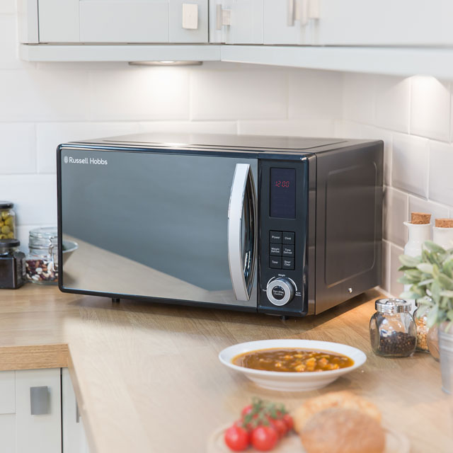 Russell Hobbs RHM2362S 23 Litre Microwave - Silver - RHM2362S_SI - 3