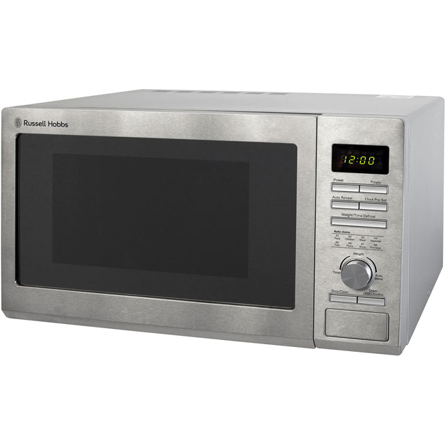 Russell Hobbs RHM2563 25 Litre Microwave - Stainless Steel - RHM2563_SS - 1