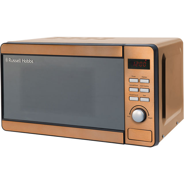 Russell Hobbs RHMD804CP 17 Litre Microwave - Copper