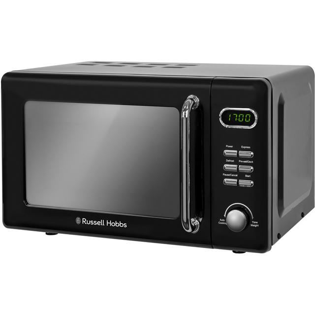 Russell Hobbs Microwaves RHRETMD706B Free Standing Microwave Oven in Black